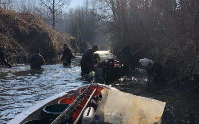 Vers l'Avenir 8/03/2021 – Des plongeurs nettoient la Dyle